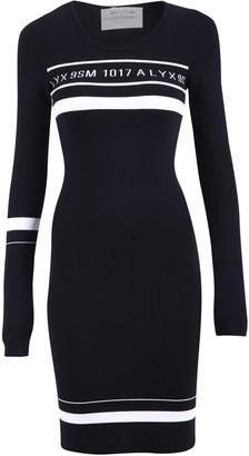 Alyx Logo Stripe Fitted Dress