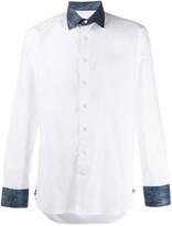 Etro paisley-trimmed shirt