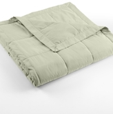 Charter Club CLOSEOUT! Microfiber Down Alternative Full/Queen Blanket, Created for Macy's