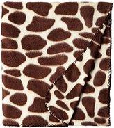 World's Best Cozy-Soft Microfleece Travel Blanket, Giraffe