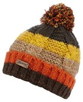 Mantaray Khaki Striped Beanie Hat