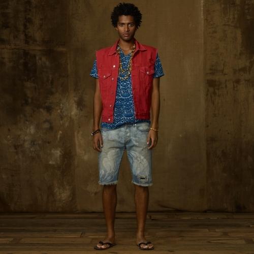 Denim & Supply Ralph Lauren Colored Denim Vest