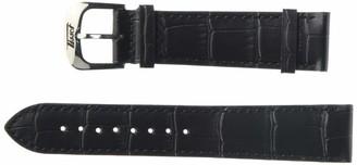 Tissot Leather Calfskin Black Watch Strap 20mm Width (Model: T600042560)