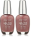 Sally Hansen Nail Growth Miracle, Gorgeous Grape, 0.45 Fluid Ounce - 2 Pack
