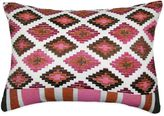 Bed Bath & Beyond Medley Embroidered Oblong Throw Pillow in Brown