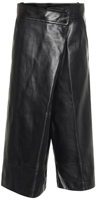 Petar Petrov Rieke leather culottes