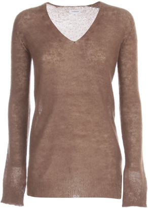 P.A.R.O.S.H. Mohair Sweater L/s V Neck