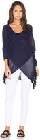 Derek Lam 10 Crosby Long Sleeve Cross Front Sweater