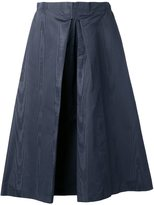 Nina Ricci inverted pleat skirt - women - Silk - 34