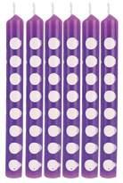 Creative Converting 12ct Creative Converting Amethyst Purple Polka Dot Candles
