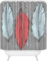 DENY Designs Wesley Bird Shower Curtain