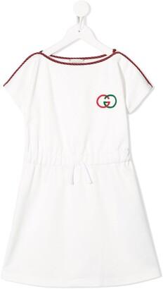 Gucci Kids Technical Jersey Dress