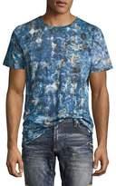 Robin's Jeans Tie-Dye Logo-Print T-Shirt, Indigo