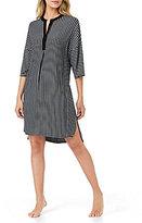 DKNY Striped Sleepshirt