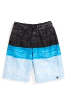 Quiksilver Boy's Word Waves Volley Board Shorts