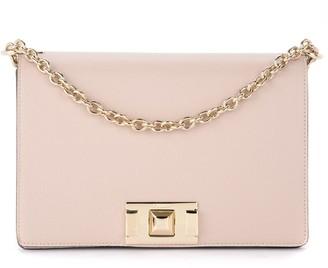 Furla Mimi S Shoulder Bag In Beige Leather With Shoulder Strap