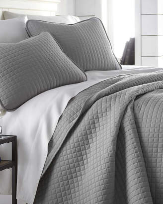 South Shore Furniture Southshore Linens Light Weight Embroidered Brickyard Quilt Set