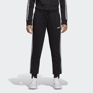 adidas Essentials 3-Stripes Joggers in a Cotton Mix