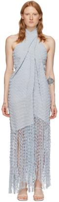Jacquemus Blue La Robe Cortese Dress