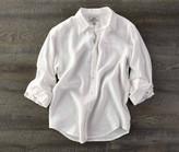 Madda Fella The Ernest Linen Shirt - Sail White