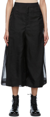 Enfold Black Layered Trousers