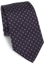 Armani Collezioni Floating Paisley Silk Tie