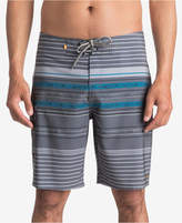 Quiksilver Men's Waterman Striped Swim Trunks