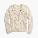 J.Crew Girls' sequin confetti cardigan sweater