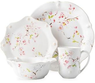 Juliska Berry & Thread Floral Sketch 4-Piece Cherry Blossom Place Setting