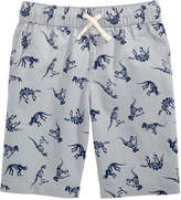 Epic Threads Dino-Print Cotton Shorts, Toddler Boys, Created for Macy's