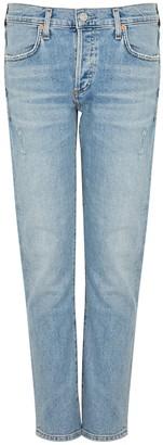 Citizens of Humanity Emerson Blue Slim Boyfriend Jeans