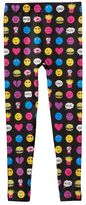 Girls 7-16 Emoji & Food Fleece-Lined Leggings