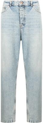 Tom Wood Carrot beach-worn jeans