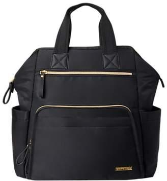 Skip Hop Main Frame Changing Backpack, Black