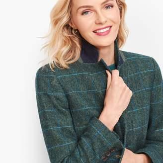 Talbots Shetland Wool Blazer - Oversize Check