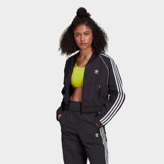 adidas Women's Adicolor Classics Cropped Fashion Track Jacket