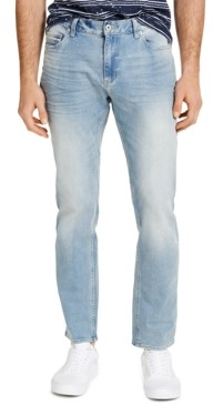 Sun + Stone Men's Straight-Fit Flatlands Jeans, Created for Macy's