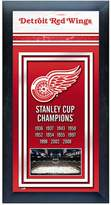 Stanley Detroit Red Wings Cup Champions Framed Wall Art