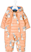 Mini Rodini Rabbit embroidered tracksuit