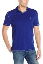 John Varvatos Men's Soft Collar Peace Polo
