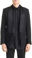 Givenchy Men's Scarf Lapel Evening Jacket