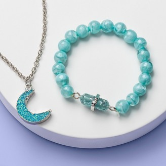Girls' Moon Bracelet and Necklace Set - More Than MagicTM Light