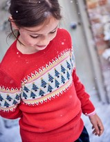 Boden Fun Festive Fair Isle Sweater