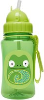 Skip Hop Zoo Straw Bottle, 12 oz, Cody Chameleon