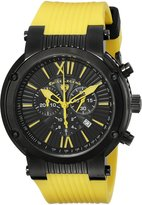 Swiss Legend Men's 10006-BB-01-YEL Legato Cirque Chronograph & Yellow Watch