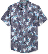 American Rag Men's Cotton Floral Geo-Print Shirt, Only at Macy's