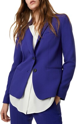 French Connection Sundae Suiting Single Breasted Jacket