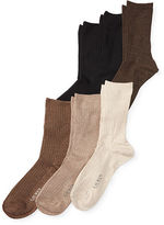 Ralph Lauren Rib-Knit Trouser Sock 6-Pack