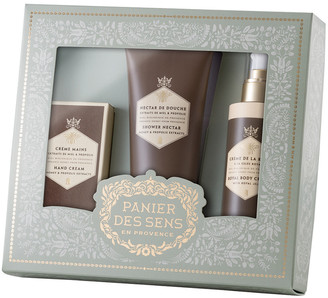 Panier Des Sens Honey Body Care Gift Set