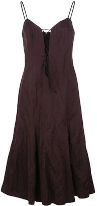 Brock Collection Quanda tie-fastening dress